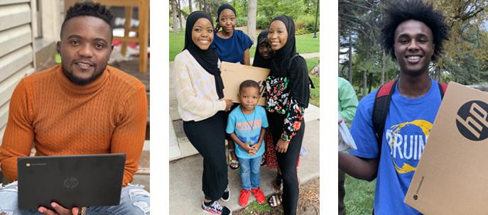 United Africans of Utah Chromebook recipients