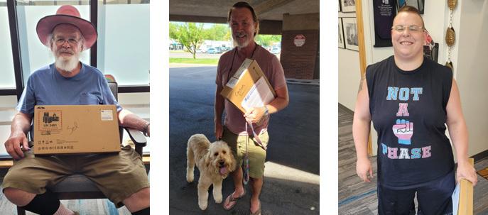 Utah Pride Center Chromebook recipients